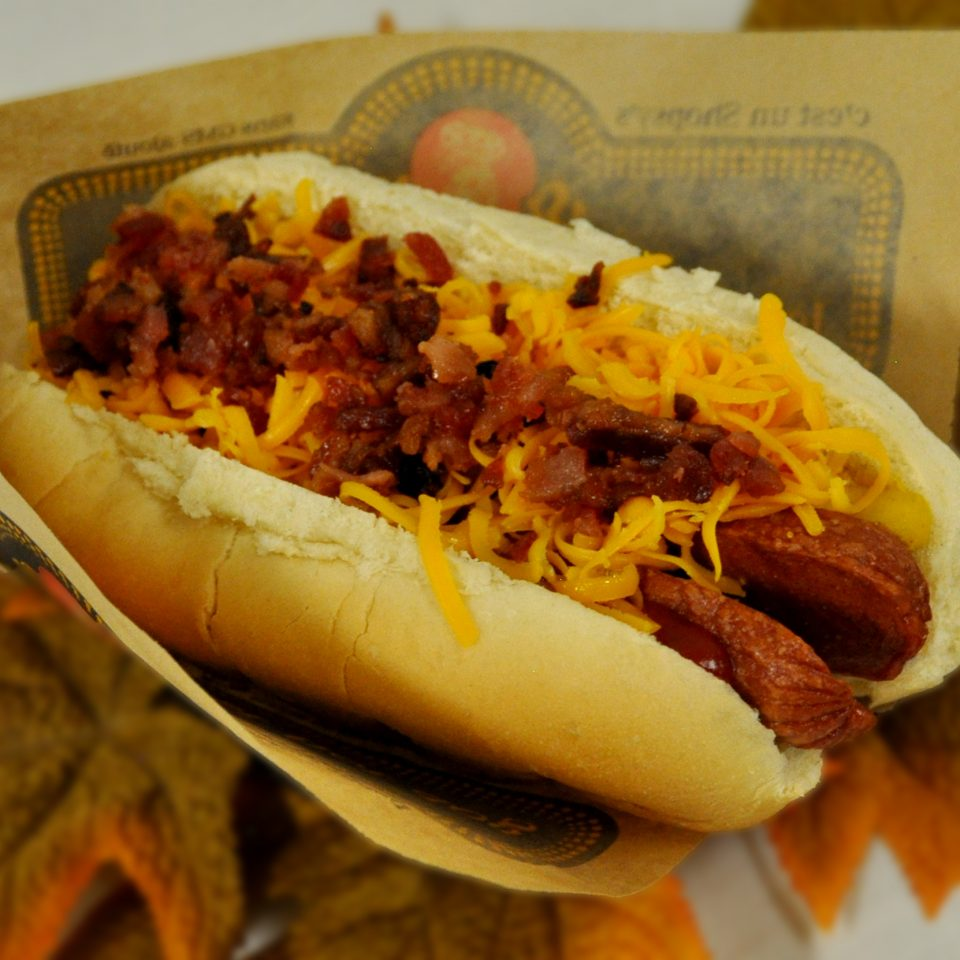 1/4 lb Bacon Cheese Dog